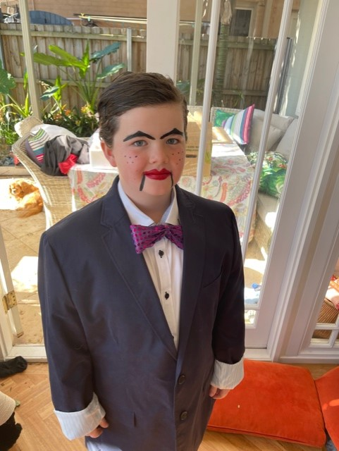 Ewan as Slappy from Goosbumps for Book Week